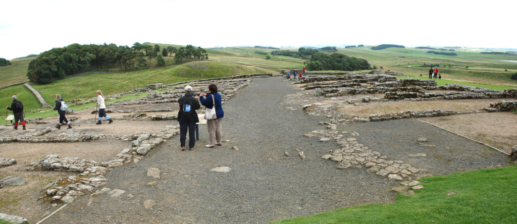 Housesteads barrack blocks