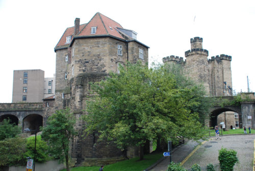 Newcastle Castle Garth